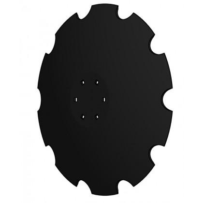 talerz 560  mm wypłaszczony