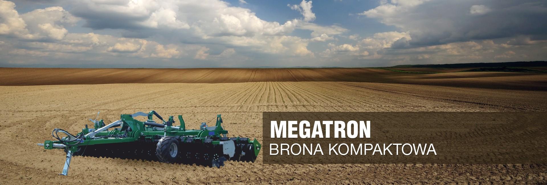 Brona kompaktowa hydrauliczna MEGATRON